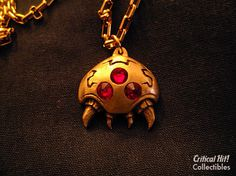 Parasite Pendant  video game jewelry geekery by CriticalHitShop, $28.00
