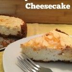 Lightened Up Apricot-Swirl Cheesecake with Greek Yogurt for Lightened Up Apricot-Swirl Cheesecake is a delicious adaptation of a classic cheesecake recipe with a graham cracker-pecan crust and apricot preserves swirling throughout. Apricot Cheesecake Recipe, Cheesecake Day, Classic Cheesecake, Cheesecake Recipes, Homemade Cheesecake, Cake Mix Recipes, Baking Recipes, Dessert Recipes, Desserts