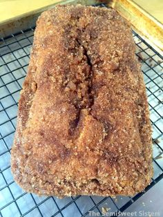 Butter Cinnamon & Sugar Loaf The Effective Pictures We Offer You About Homemade Bread for soup A qua Bread Machine Recipes, Easy Bread Recipes, Sweet Recipes, Baking Recipes, Loaf Recipes, Cake Recipes, Breakfast Bread Recipes, Köstliche Desserts, Dessert Recipes