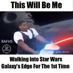 Yup just a little excited!😆  is part of Super funny memes - Funny Disney Memes, Super Funny Memes, Funny Marvel Memes, Disney Jokes, 9gag Funny, Funny Video Memes, Crazy Funny Memes, Funny Short Videos, Really Funny Memes