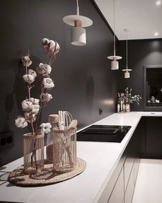 Modern dark home and decor ideas to Match Your Soul, You Must Try In 2020 - Page 63 of 75 - Life Tillage Black Interior Design, Luxury Interior, Modern Tv Wall Units, Modern Kitchen Design, Colorful Decor, Home Kitchens, Inspiration, Home Decor, Interiors