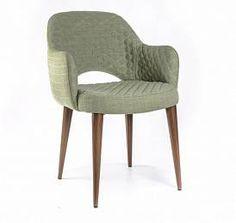 Кресло MARTIN с прострочкой зеленый