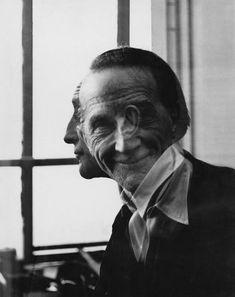 Marcel Duchamp | Portrait by Victor Obsatz, 1953