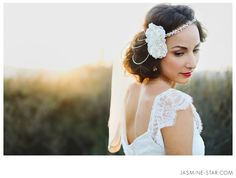 My Olivia Nelson accessories and Wedding Veils : My Olivia Nelson Photo Shoot Jasmine Star Photography