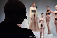 Photo credit Lingerie Fashion Week® #LoveCage