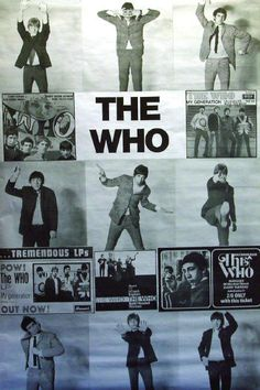 The Who - Circa 1965/66 (Country Unknown)