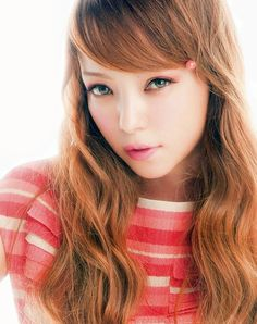 Namie Amuro; Sweet Magazine April '12