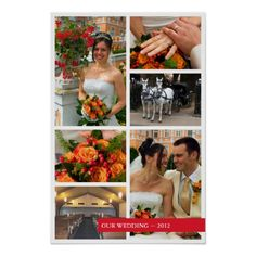 Shop Red band 6 multi photo collage memories keepsake poster created by FidesDesign. Personalize it with photos & text or purchase as is! Baby Photo Collages, Photo Collage Gift, Red Band, Blue Band, Wedding Photo Books, Wedding Photos, Wedding Color Schemes, Wedding Colors, Anniversary Pictures