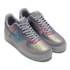 half off c6e1d 3f596 Nike Air Force 1 Iridescent Sneakers   POPSUGAR Fashion Adidasskor, Skor  Sneakers, Skor Klackar