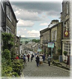 Haworth, England. Home of the Bronte sisters.