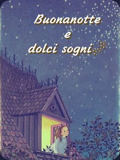 Immagini Belle di Buonanotte per Facebook e Whatsapp - StatisticaFacile.it Good Morning Good Night, Day For Night, Moon Art, Betty Boop, Good Mood, Stars And Moon, Mixed Media Art, Literature, Pictures
