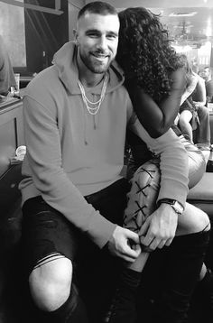 Travis Kelce and Kayla Nicole ❤ Gorgeous interracial couple Interacial Love, Interacial Couples, Black Woman White Man, Black And White Love, White Women, Black Girls, Black Men, Mixed Couples, Black Couples