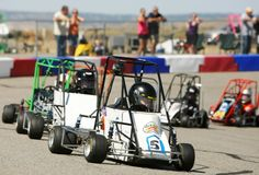 Youngsters get behind the wheel in Quarter Midgets races