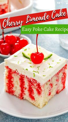 Poke Cake Recipes, Cake Recipes From Scratch, Poke Cakes, Frosting Recipes, Cupcake Cakes, Dessert Recipes, Cupcakes, Easy Desserts, Delicious Desserts