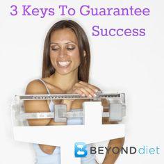 3 Keys to GUARANTEE Weight Loss Success