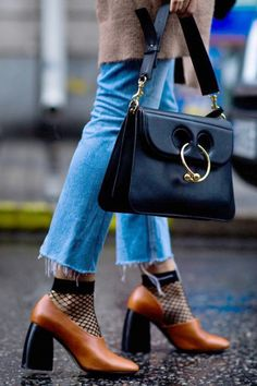JW Anderson Handbag and Mango Shoes