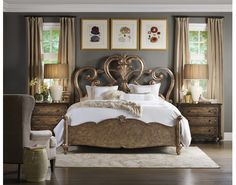 Hooker Bedroom Set - Home Design Ideas and Pictures