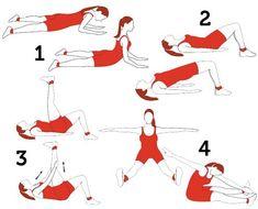 Exercícios para fortalecer a coluna lombar no chão ou na bola | Moda i Decor