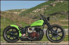 custom kz440 | 1981 Custom Built Motorcycles Bobber - Sun City California