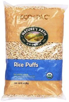 Organic-Rice-Puffs-Cereal-Nature-039-s-Path-100-Whole-Grain-6-oz-New