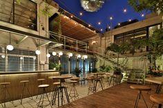 colette studio reshapes heritage building into restaurant in barranquilla