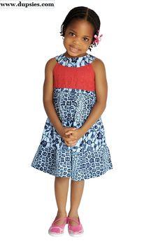 Smart African print wear for Kids.
