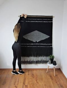 47x67 Extra Large Woven wall hanging Modern home decor Wall