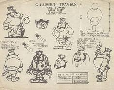 Michael Sporn Animation – Splog » Vince Cafarelli's Gulliver Models