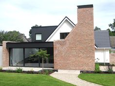 Declan O'Donnell: This transformation is a classic example of how a well-interpreted design brief is critical to delivering a successful project Brick Extension, Building Extension, Wraparound Extension, Extension Ideas, Bungalow Extensions, House Extensions, British Architecture, Architecture Design, Brick Building
