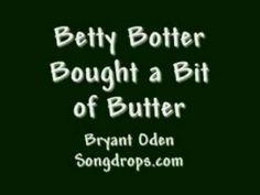 Betty Botter. Super faster