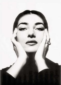 Cecil Beaton Photograph of Maria Callas.  I loved seeing her Opera jewellery displayed at Covent Garden in 2005!