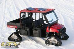 UTV Guide :: View topic - Polaris Ranger Crew on tracks Polaris Rzr Accessories, Atv Accessories, Rzr Parts, Polaris Utv, Polaris Industries, Polaris Ranger Crew, Big Boyz, Bone Stock, Amazing Cars