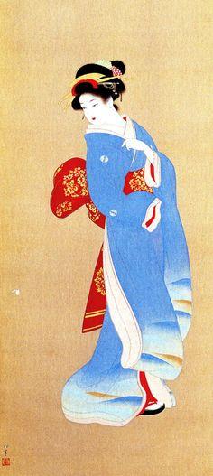 Uemura Shouen (1875-1949) Shunkou - 1940