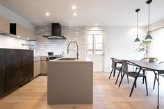 キッチンハウス キッチン:HJロックグレー バックセット:LCメルクリオ、HJロックグレー No.113-002507 Table, Furniture, Kitchens, Home Decor, Cooking, Decoration Home, Room Decor, Tables, Home Furnishings