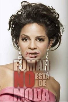 Estefanía Infante . Colombia's Next Top Model, Cycle 2 Episode 17 > Glamour Shots Smoking & Detriments of Smoking