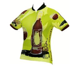 I know someone who would love this.  World Jerseys Women's Tempo Di Vino Cycling Jersey