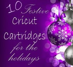 Craft-e-Corner Blog * Celebrate Your Creativity: Christmas is Coming Sale! Featuring 10 Cricut Cartridges for this holiday season!
