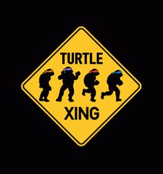Turtle XING - BustedTees
