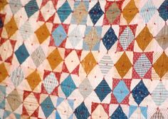 Iowa-Illinois Quilt Study Group, tied quilt