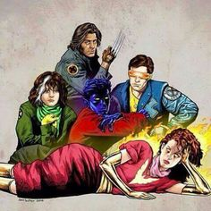 Xmen breakfast club