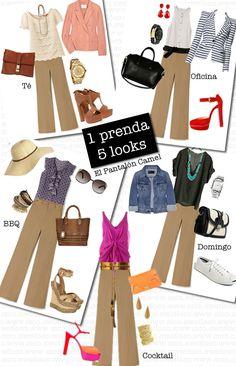 1 prenda 5 looks: El pantalón camel | CoolTown Fashion