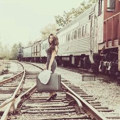 Train tracks shoot