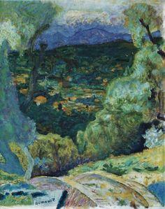 Pierre Bonnard, Southern Landscape: Le Cannet, 1928 Oil on canvas on ArtStack #pierre-bonnard #art