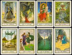 Celtic Themes: The Druid Craft Tarot Deck | The Mystic Review With Barbara Graver