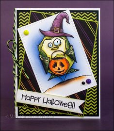 Crazy Birds Halloween Card by mprasad - Cards and Paper Crafts at Splitcoaststampers