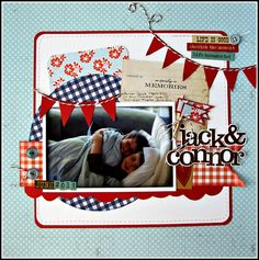 Jack & Connor - Scrapbook.com
