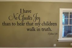 Twos nursery verse...I have No Greater Joy than to hear that my by OZAVinylGraphics, $28.00