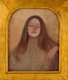 Ellen Thesleff, Thyra Elisabeth, 1892 Katarina ja Leonard Bäcksbackan kokoelma © Muu tekijänoikeuden haltija 2009