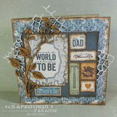 Scrapbooker's Paradise Blog: Father's Day