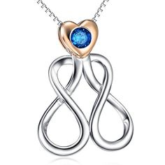 Father's day & Childen's day 925 Sterling Silver Double Infinity Love Charm Simple Iri... http://www.amazon.com/dp/B01FGX37U0/ref=cm_sw_r_pi_dp_oWUmxb1ZDRF74